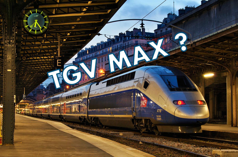 Illustration d'un TGV de la SNCF pour l'article de Robin Monnier sur le TGV Max sur le blog robinmonnier.com